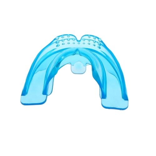 Second Hand 1 Stück Kieferorthopädische Trainer Zähne Ausrichtung Gerade Zähne System Erwachsene Mundstücke Klammer Zahnschiene Mundschutz Mit Box