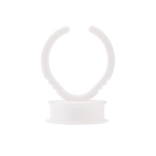 100 Stck/Pack Wimpern Palette Leim Inhaber Klebstoff Inhaber Wimpern Extensions Kleber Ringe