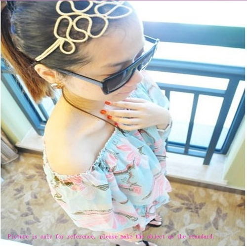 Alloy Front Hair Band Fashion Beautiful Hair Decoration Accessory Hair Loop