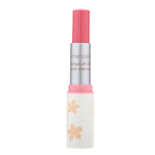 Fashion Makeup Lipstick Long-lasting Color Optional Classic White Rounded Tube