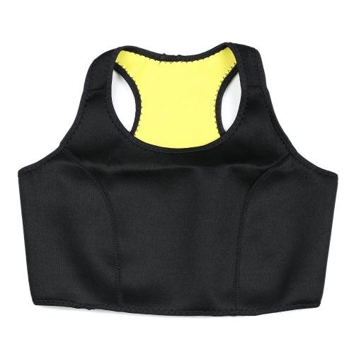 スリミング下着超伸縮性のネオプレーン産後ブラ ラップ スリム ベスト スパンデックス女性用 BreastTrimmer ボディシェイパーを伸縮性