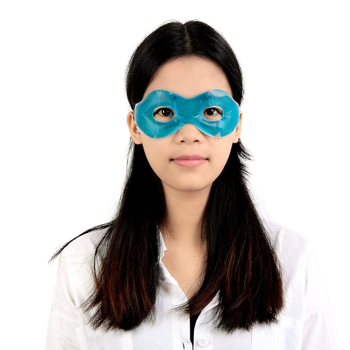 Gel Eye Mask Cold Pack Warm Hot Heat Ice Cool Soothing Tired Health Care Eyes Pad