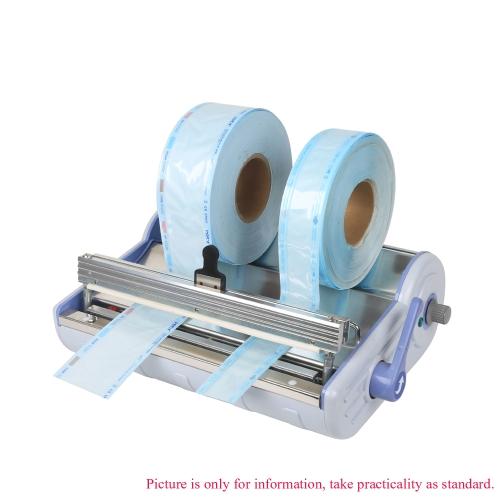 5,5 cm * 200 m hohe Qualität Sterilisation Dialyse Desinfektion von zahnärztlichen Sealer Tasche blau