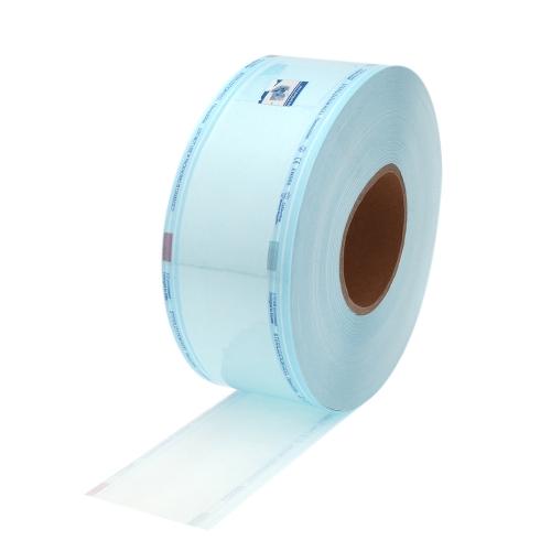 7,5 cm * 200 m alta calidad diálisis esterilización desinfección de sellador Dental bolsa azul