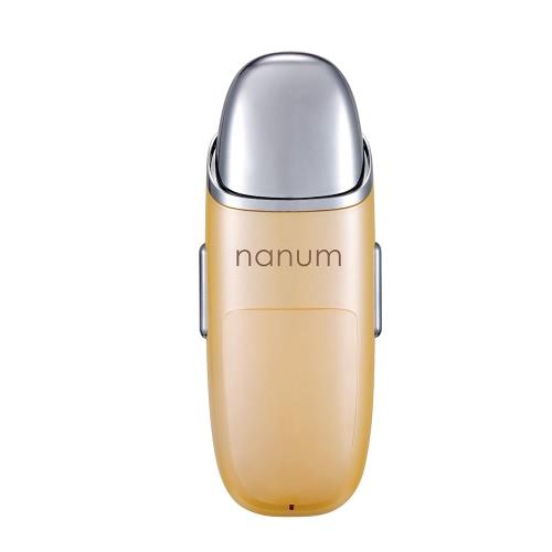 Nanum Mini neue bewegliche Hand Schönheit Gesichtsdampfer-Massage-Werkzeug Massage USB-Lade Wasser Sprühen Vernebelungs Nano Ultraschall-Luftbefeuchter Moisturizer Feuchtigkeitsanreichung Feuchtigkeitsspendgerätehauttest