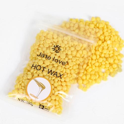 Solide Dehaired Wachs Bohnen Multi Geschmack Hot Film Perlen für schmerzlose Haarentfernung Depilatory Pearl Hard Wax