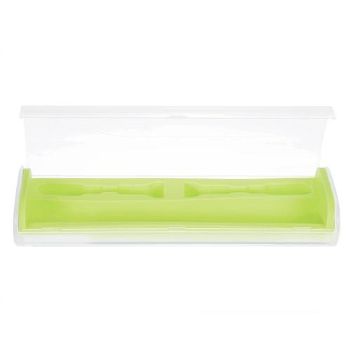 1pc elektrische Zahnbürste Fall Zahnbürste Spielraum-Speicher-Box Zahnbürste schützen kampierende Zahnbürste Box Gelb