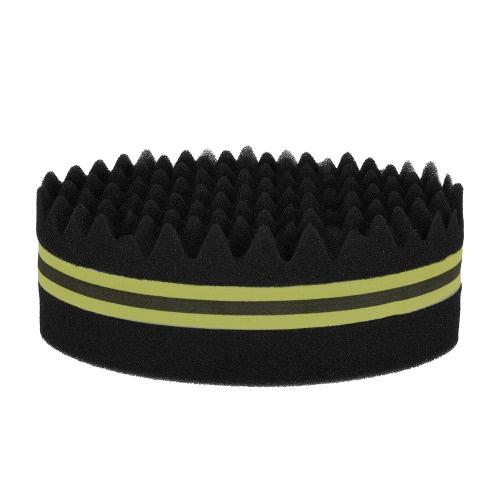 1Pc Овальная щетка для афроских дредов Скручивание катушки Волна Двусторонние волосы Twist Sponge Magic Hair Braider 4 Дополнительные цвета
