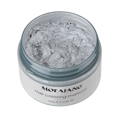 Professionelle lang anhaltende Oma Hair Wax Silber Grau One-Time Dye Color Creme