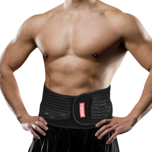 Lumbar Waist Support Lower Back Brace Exercise Body Shaper Gym Fitness Belt for Men and Women
