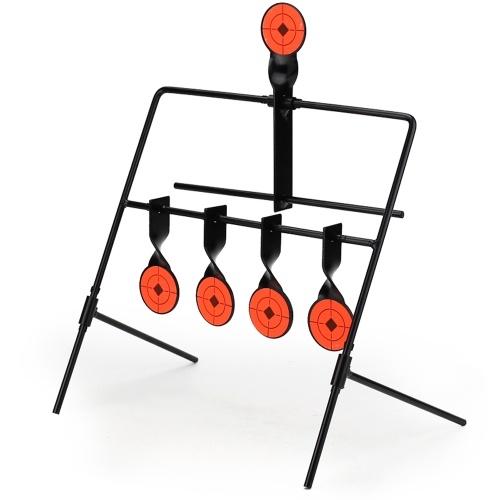 Metal Shooting Reset automático girando Indoor Outdoor Firing Set Útil WST alvo