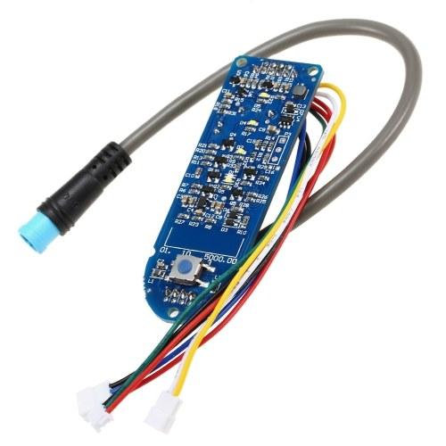 Circuito del pannello del commutatore indicatore della batteria del cruscotto del motorino
