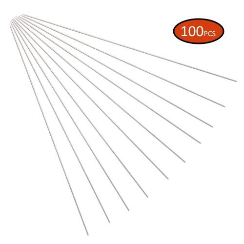 10pcs / 50pcs / 100pcs Titan Grillspieße Wiederverwendbare BBQ Kabob Sticks BBQ Grillzubehör