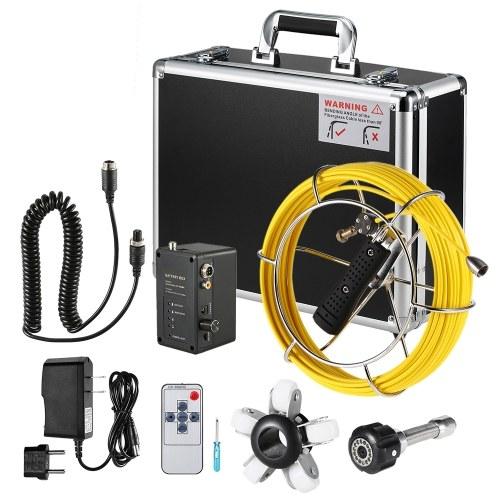 9-дюймовый 20M / 30 / 40M трубы инспекционная камера дренажный канализационный трубопровод
