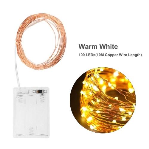 Led Lichterkette 5M / 16.4ft mit 50 LEDs Kupfer
