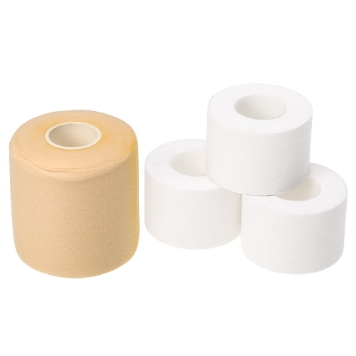 4 Pack Sports Tape Adhesive Athletic Tapes and Pre Wrap Tape