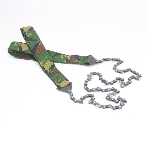 Survival Pocket Chain Camping Hiking Chainsaw