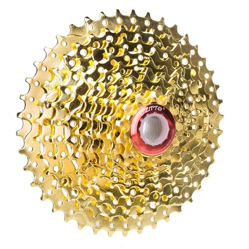 Large Flywheel Golden Cassette Flywheel Climbing Flywheel Tooth Compatible Mountain Bike Truck Gear Mountain Bike Accessories