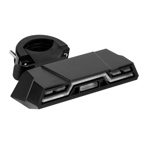 USB wiederaufladbare kabellose Fahrradrücklicht