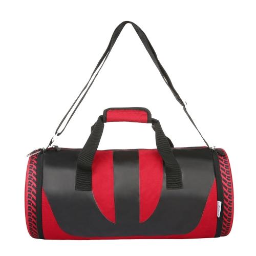 Plegable de neumático en forma de Duffel bolsa bolso deportivo con correa de hombro