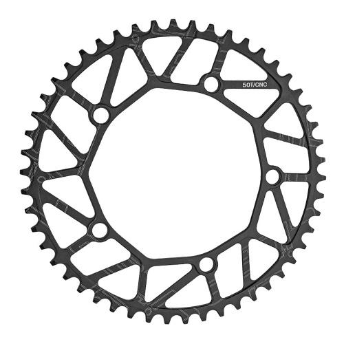 130BCD колесо цепи велосипеда 50T / 52T / 54T / 56T / 58T сверхлегкий алюминиевый сплав велосипедная звездочка звездочка