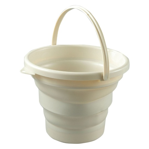 Foldable Pail Bucket Portable Collapsible Bucket Camping Beach Fishing Multi-Purpose Bucket