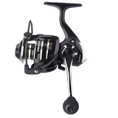 Mini Spinning Reel All Metal 3BB  5.2: 1 Ultralight All Metal Reel Right Left Hand Inter-changeable Freshwater Saltwater Fishing Reel