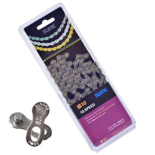 8/9/10/11/12 Speed Bicycle Chain Lightweight Mountain Bike Road Bicycle Chain 116 Links Image