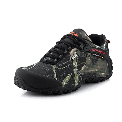 Outdoor Camouflage Climbing Men's Hiking Shoes Sport Sneaker
