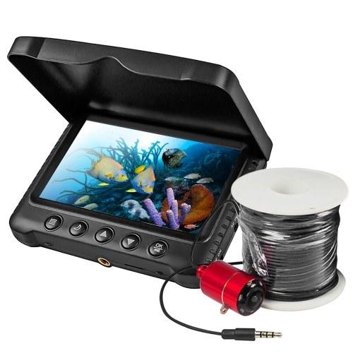 Водонепроницаемая камера для подводной рыбалки с 5-дюймовым ЖК-дисплеем 1200TVL Портативный эхолот
