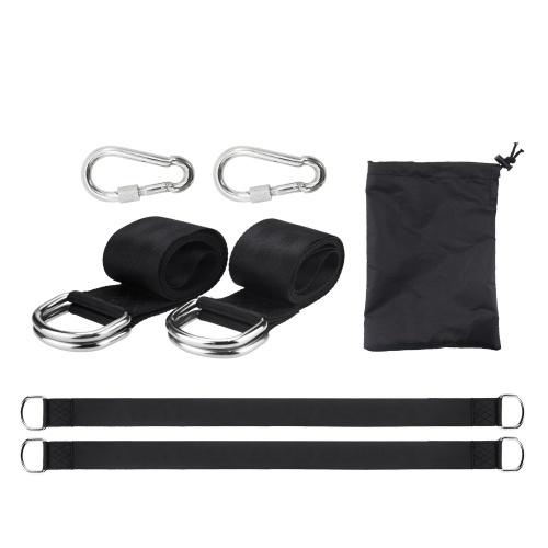 Polyester High Strength Swing Belt Hängemattengurte Swing Hangings Belt Camping Camping Outdoor Wanderausrüstung Zubehör