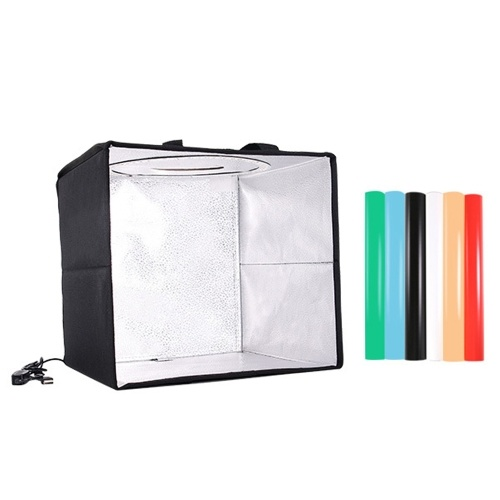 USB Portable Photo Studio Light Tent LED Lighting Photography Shooting Tent Small Soft Light Photo Box Photographic Equipment