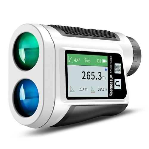Многофункциональный лазерный дальномер Уличный телескоп для гольфа Цифровой монокулярный дальномер Угол Скорость Измерение высоты Инструмент с цветным сенсорным ЖК-дисплеем