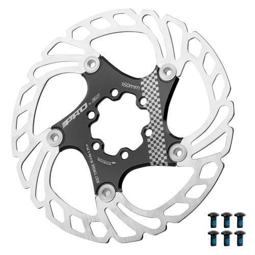 160mm-180mm-203mm Floating Brake Disc Rotor with 6 Bolts for MTB Mountain Road Bike