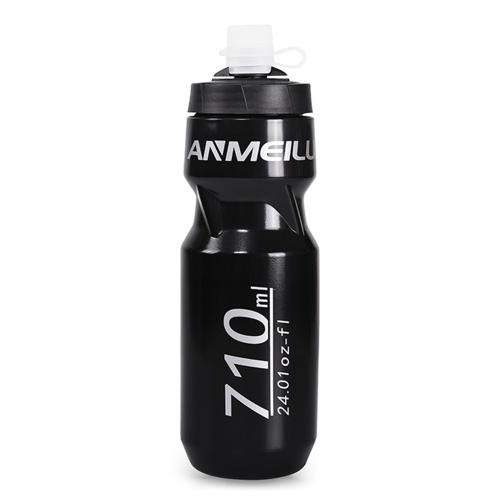 610ml Portable Mountain Bike Water Bottle BPA Free & Leak proof Safe Sport Drinking Kettle Fitness Squeeze Cycling Water Jug