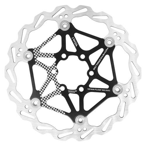 160mm-180mm-203mm Floating Brake Disc Rotor Bicycle Brake Pad Six-bolt Disc Bike Part