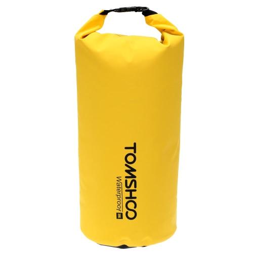 ラフティング ボート カヤック カヌー キャンプ スノーボード旅行用 TOMSHOO 10/20 L 屋外防水ドライバッグ袋収納袋