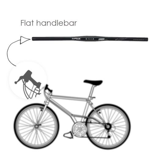 Алюминиевого сплава велосипедных горных MTB велосипед плоский руль 31,8 * 620 мм