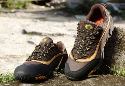 Outdoor Shoes Professional Mountain Climbing Shoes Men's Hiking Shoes Sport Sneaker Trekking Shoes with 2.5cm Thick Insole
