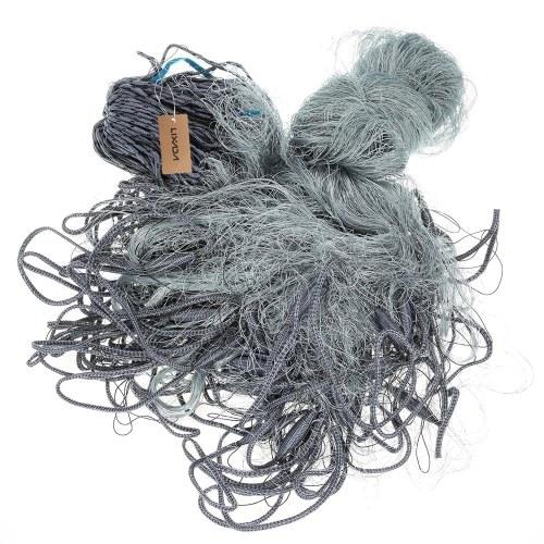 Lixada 1.8 * 30m Multifilament Fischerei Gill Net 3 Schichten Multifilament Gill Net 50mm Mesh Loch