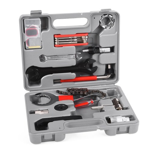Lixada Professional Universal Home Outdoor Multi-function Purpose Bike Bicycle Repair Tool Kit Set