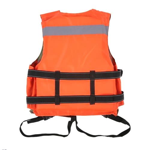Erwachsene lebensrettende Reversible Schwimmweste Schwimmhilfe Flotation Device Arbeitsweste Kleidung Schwimmen Marine Life Jacken Sicherheitsüberlebensanzug Outdoor Wasser Schwimmen Sport Treibende Angeln