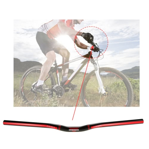 Lixada Велосипед Handlebar Ultralight углеродного волокна дорожный велосипед BMX велосипед складной велосипед Riser Bar Handlebar 580мм / 600мм / 620мм