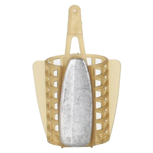 Carp Fishing Bait Feeder Cage Lure Holder carrello della gabbia di pesca Trappola di pesca accessori con Piombo Sinker 30g / 40g / 50g / 60g / 70g / 80g