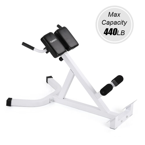 Terrific Tomshoo Tomshoo Adjustable Hyperextension Roman Chair Abdominal Back Extension Exercise Ab Bench Home Gym Fitness Creativecarmelina Interior Chair Design Creativecarmelinacom