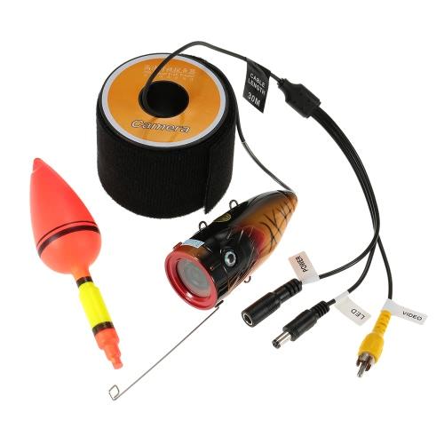Unterwasser-HD-Fischen-Videokamera 1000TVL Wasserdichtes 12st LED-Lichter Fisch-Sucher Fisch-Detektor 15m / 30m Kabel