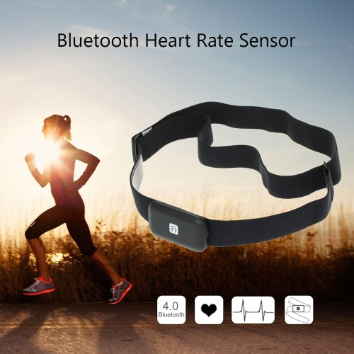 Herzfrequenzsensor Fitness Tracker drahtlose Sport-Puls-Monitor-Fitness Smart Sensor-Brustgurt für mobile Handy
