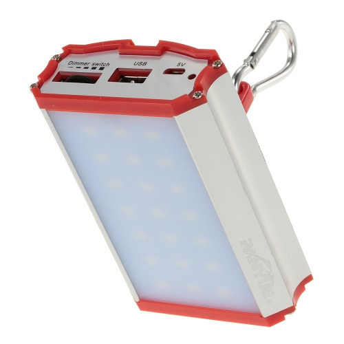 Lanterna di campeggio 800ml LED ricaricabile palmare campo della lampada della torcia elettrica della torcia della tenda luce Escursionismo Outdoor Emergency Usa