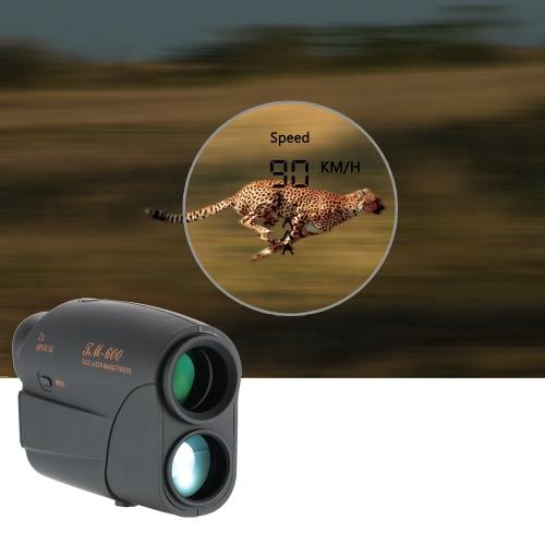 600m Outdoor Compact 7X25 Entfernungsmesser