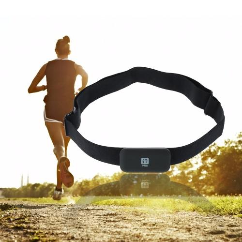 Für BT 4.0LE Für ANT + Wireless Smart-Sensor-Sender Puls-Monitor-Tracker-Brustgurt für Smart Phones Fahrrad-Computer
